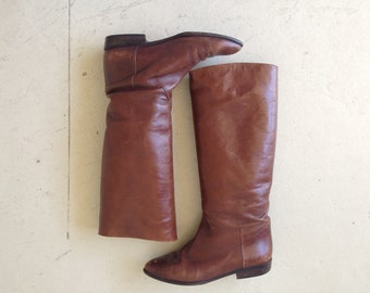 vintage 80-90'Boots  size 7.5 B made in italy