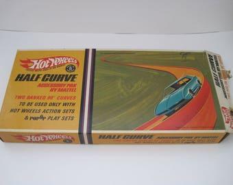 1967 Hot Wheels Half Curve Track