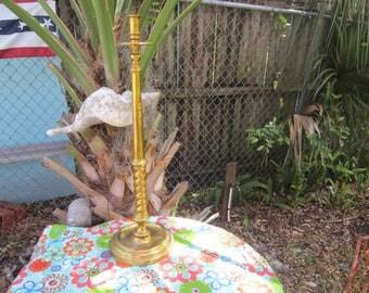 "29"" solid brass candlestick, church, brass candle holder"