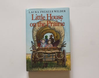 Vintage book | vintage Little House on the Prairie by Laura Wilder Illustrated by Garth Williams | children's classics vintage book