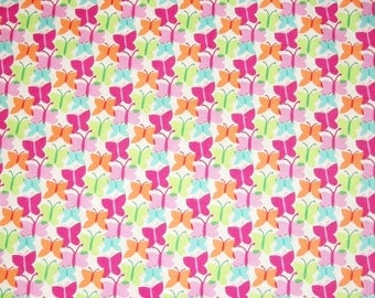 Butterfly Fabric, By The Yard Fabric, Michael Miller Fabrics, Fluttery Collection, Sewing Fabric, Quiltingl Fabric, Spring Fabric