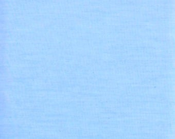 Solid Blue Fabric, 65 Percent Dacron Polyester/35 Percent Cotton Blend, Fabric by the Yard