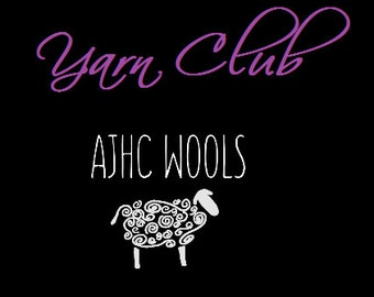 Yarn Club Subscription Monthly Yarn Delivered To Your Door SHIPPING INCLUDED