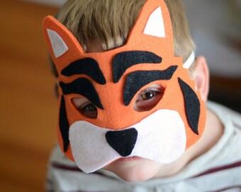 Felt Masks, jungle theme, gift ideas, birthday party favors