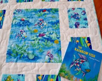 Rainbow Fish Baby/Toddler Quilt