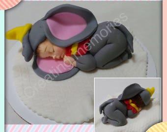Baby Mermaid Cake Topper /Cupcake Cookies Cake Decorations