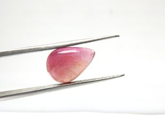Tourmaline-Cabochon Super Top AAA Quality Natural Size 9X12mm--Height 4MM Weight - 3.45Ct-100% Natural Wholesale Price