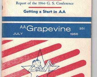 AA Grapvine, Magazine of Alcoholics Anonymous,  July, 1966.