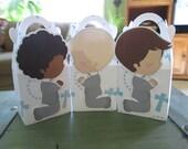 Boy's First Communion Gable Favor Boxes  Set of 12
