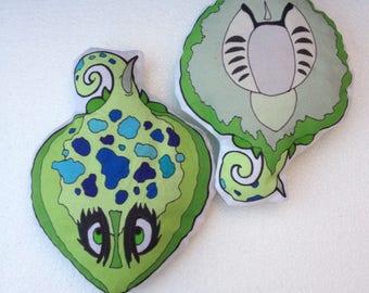 Fidgety Stingray fish weighted fidget toy mylar crackle or beanbag original artwork
