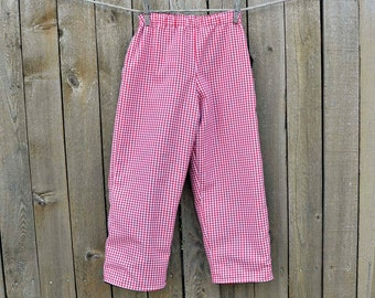 Red Gingham pants or  checked shorts, Fully Lined, many colors, thanksgiving, Graduations...3m,6m,9m,12m,18m,2t,3t,4t,5,6,7,8,10,12