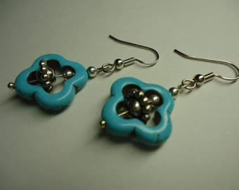 Turquoise Earrings 2 pairs mix and match.