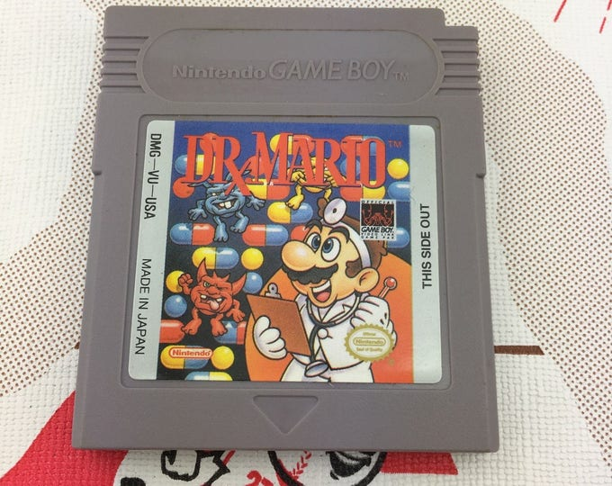 Featured listing image: Dr. Mario for Nintendo Gameboy