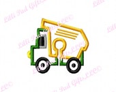 G-Tube Cover-Dump Truck - Applique - Machine Embroidery Design - 2 sizes