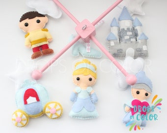 Baby Mobile Baby Crib Mobile Nursery Cowgirl Decor
