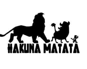 Hakuna Matata Sticker