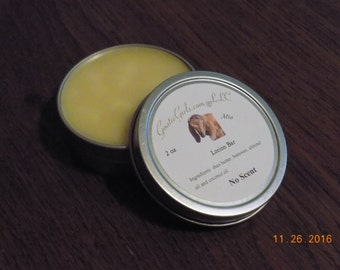 Essential Oil Lotion Bar in 2 oz Container of Choice - Choose Essential Oil