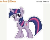 50% SALE Twilight Sparkle My Little Pony Planar Resin Cabochons Flatback Flat Back Scrapbooking Hair Bow Centers Card Making Crafts Embellis