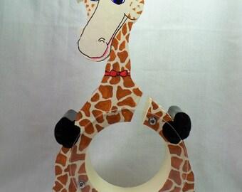 Moving Sale - Giraffe wooden bank