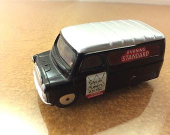 Vintage Corgi Toys Bedford Evening Standard Van, 1960-62.  1/43 Scale Diecast Car No. 421. Refurbished to Original State.