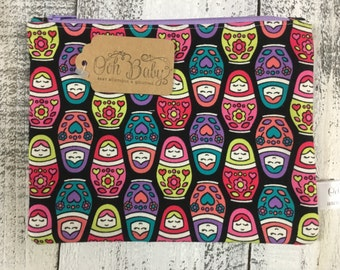 Russian Doll Zip Bag