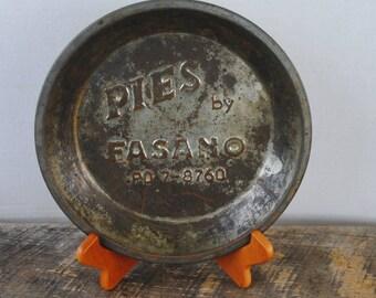 Vintage Pies by Fasano Metal Pan Decorative Kitchen