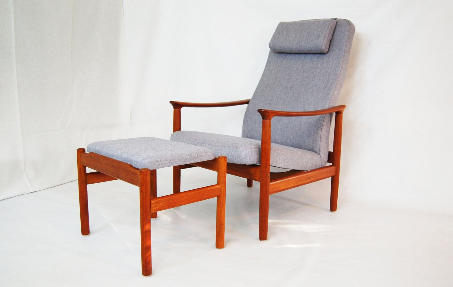 reclining chair with ottoman sale