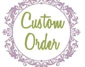 Custom Bridal Flower Crown
