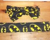 Batman Symbol fabric headband. Justice league. Dark knight