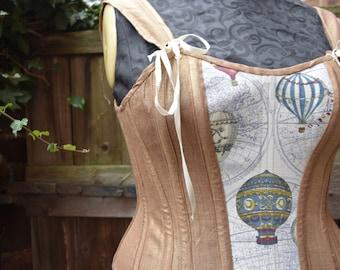 "Gilded balloon overbust corset ( waist 29"")"