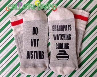Curling Socks, FAST SHIP, Wine Socks, Bring Me Socks, Custom socks, Saying Socks, Novelty Socks, Christmas Socks, Stocking Stuffers, Gift