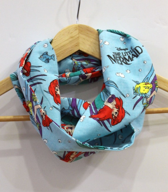 Disney Little Mermaid Child's Infinity Scarf