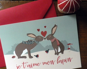 Valentine's Day postcard
