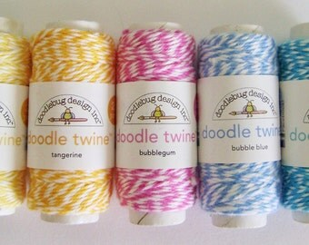 SALE ** Your Choice of Color - Doodlebug Doodle Twine
