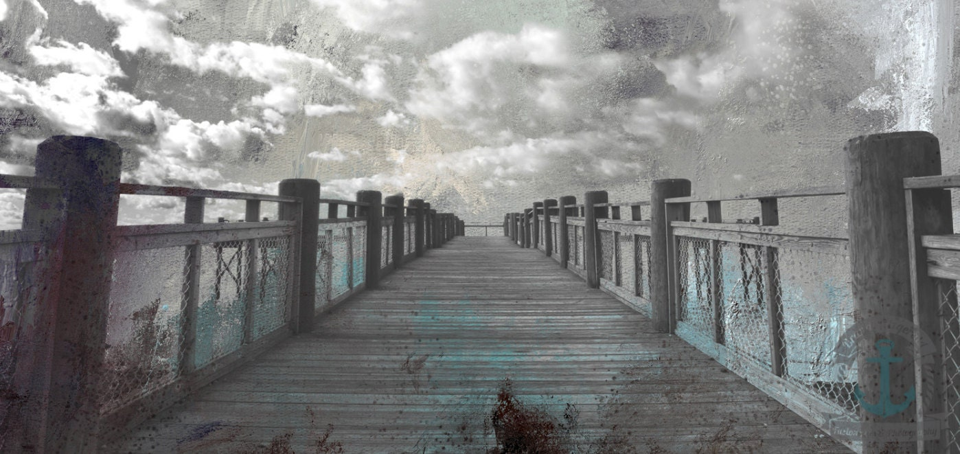 pier into the clouds