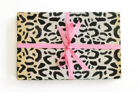 cheetah wrapping paper Wrap it up wrap all your gifts in our beautiful wrapping paper roll wrap includes two patterned sheets, one of each design.