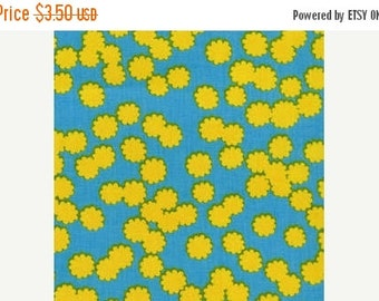 SHOP CLOSING SALE Jennifer Paganelli fabric Lucky Girl for Free Spirit Fabrics Maggie in Yellow half yard