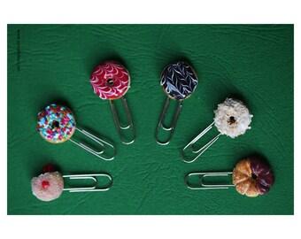 Fun Donuts Paper Clips