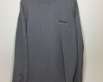 Nautica competition long sleeve shirt size xl with large graphic on back.