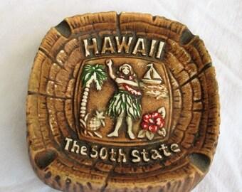MAY SALE 20% Off Vintage Hawaii Ashtray Souvenir