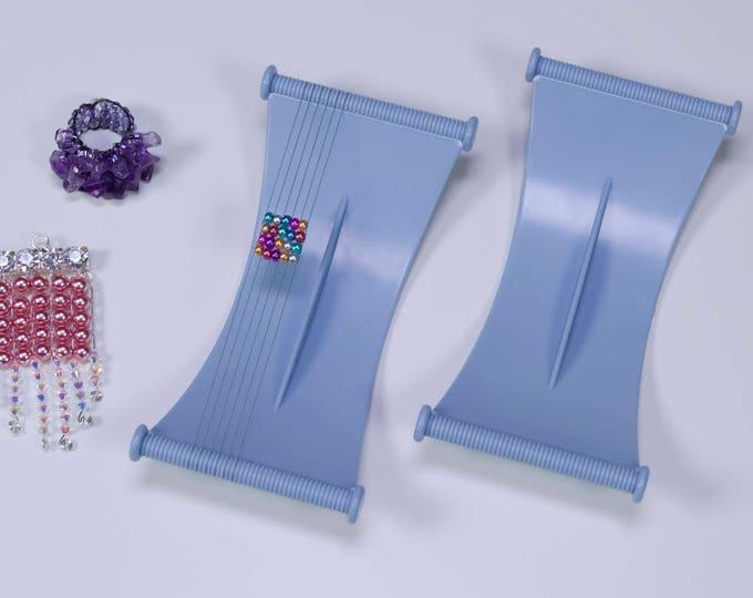 Bead Loom Baby Jewel Loom Beadalon Baby Jewel Loom by Julianna C Avelar, Portable Beading Loom, Bead Weaving, Easy to use