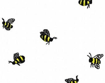 Swarm of Bees Embroidery Design - Instant Download