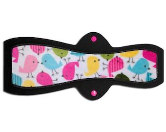 "Overnight / Plus Size / Postpartum Pad (14"" Heavy - Chick Minky)"