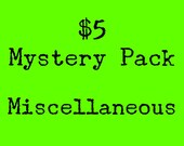 Five-Dollar Mystery Zine Pack--Miscellaneous Zines