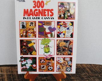 Leisure Arts 300 Plus Magnets in Plastic Canvas