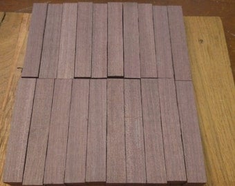 20 purple heart pen blanks