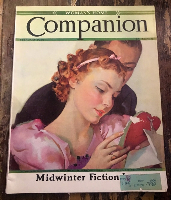 Vintage Women's Home Companion Magazine February 1936