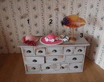 Dollhouse hats