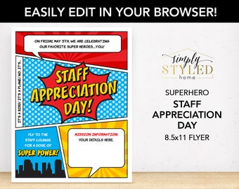 Appreciation etsy for Nurses week flyer templates