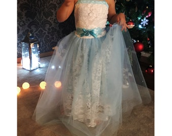 Tulle  DRESS for girls made your size Party Costume fairy gown Easter Christmas
